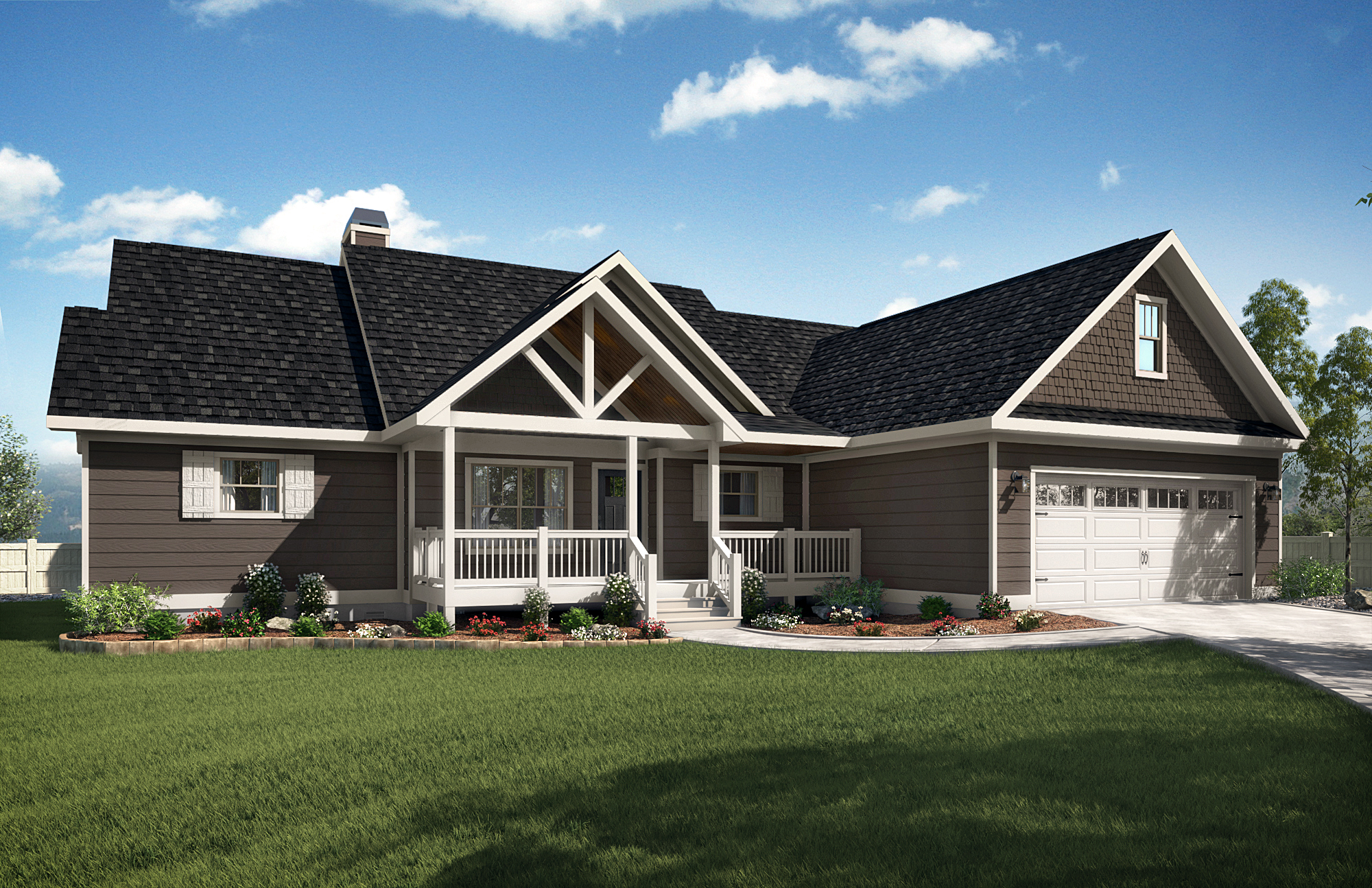 Brown Haven Homes - Woodland Virtual Tour